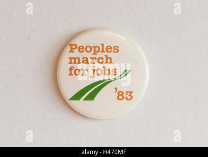 Los pueblos de marzo para trabajos, pin como usar 1983 Homero SYKES Imagen De Stock