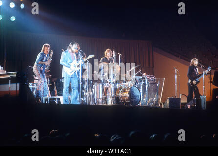 El grupo de rock estadounidense de Chicago cerca de 1973 en Los Angeles, California. Foto: Jeffrey Mayer Imagen De Stock