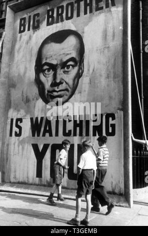 1984 Año 1956 director británico Michael Anderson : Imagen De Stock