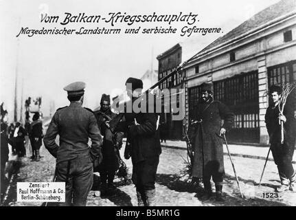 9 1916 8 0 A1 E Reserva Macedonio Foto Guerra Mundial 1 Otoño batalla en Macedonia Agosto de 1916 hasta enero Imagen De Stock
