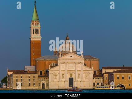 San Giorgio Maggiore, la región del Veneto, Venecia, Italia Imagen De Stock