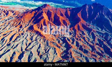 Piebald Badlands, Río Colorado, Utah, Nestimado Moab Imagen De Stock