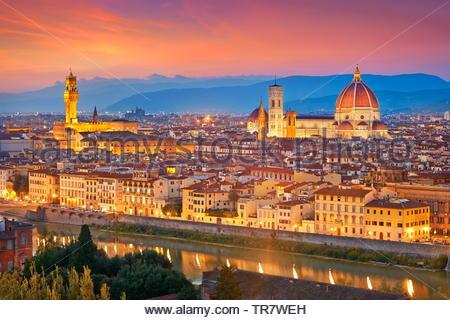 Florencia, Italia. Imagen De Stock