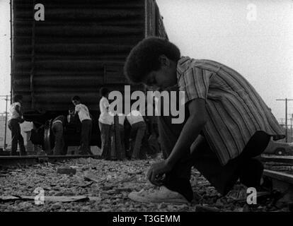 Asesino de ovejas Año 1978 - USA Director : Charles Burnett Imagen De Stock