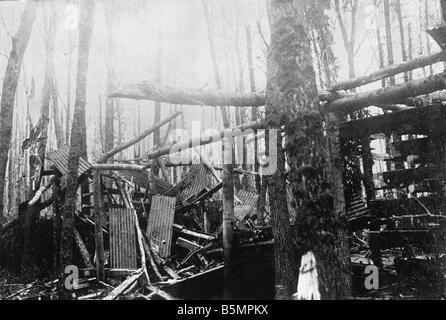 9 1916 3 18 A1 3 E Batalla de 1916 Ingeniero Postawy depot Primera Guerra Mundial Frente Oriental la derrota de Imagen De Stock