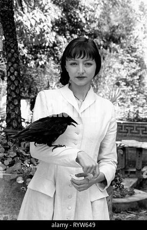 La actriz portuguesa Maria de Medeiros, 1988. Imagen De Stock