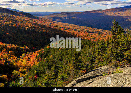 New Hampshire's White Mountain National Forest. Imagen De Stock