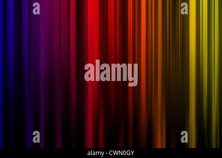 Una única y colorida imagen de fondo abstracto multicolor líneas verticales. Imagen De Stock