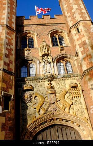 St John's College, Universidad de Cambridge, Inglaterra Imagen De Stock