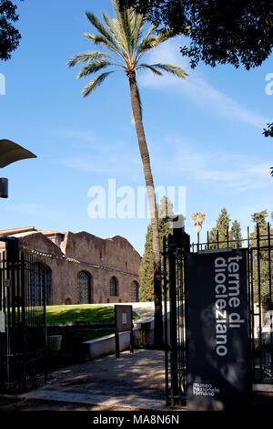 Museo Nazionale Romano, Terme di Diocleziano - Museo Nacional Romano, las Termas de Diocleciano Imagen De Stock