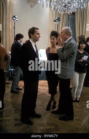 Les Nuits de la pleine lune Año: 1984 - Francia Fabrice Luchini, Pascale Ogier, Eric Rohmer Director : Eric Rohmer imágenes Imagen De Stock