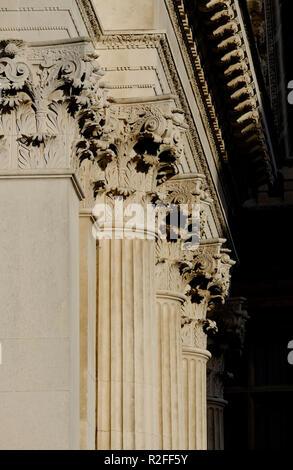 El Senate House edificio exterior, Universidad de Cambridge, Inglaterra Imagen De Stock