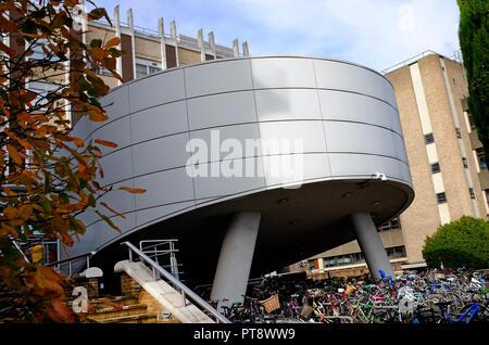 La clifford allbutt edificio y auditorios, Addenbrooke's Hospital de la Universidad de Cambridge, Inglaterra Imagen De Stock