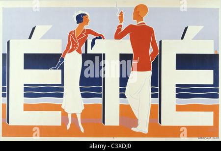 Été, por M. Caddy. 1925 Imagen De Stock