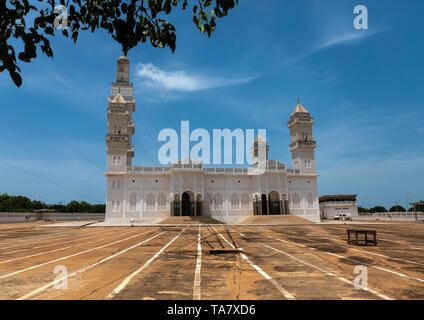La gran mezquita, région des Lacs, Yamoussoukro, Costa de Marfil Imagen De Stock