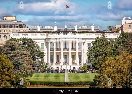 La Casa Blanca en Washington D.C. Imagen De Stock