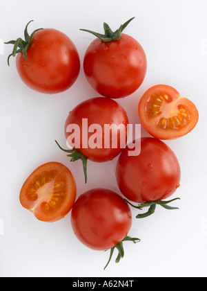 Tomates cherry Imagen De Stock