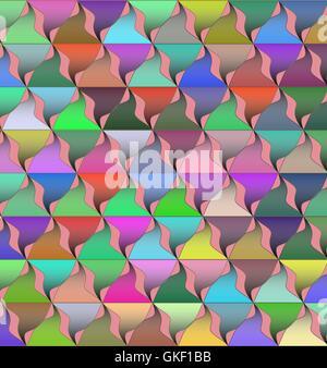 Antecedentes vectoriales con luces de colores Imagen De Stock