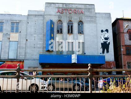 El Astoria en Gloucester Place Brighton art deco, un antiguo cine catalogado de grado 2 Imagen De Stock