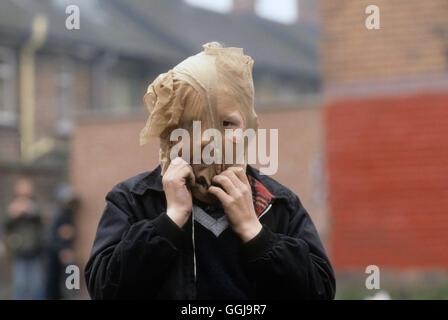Problemas de Belfast, Irlanda del Norte de 1980 Homero SYKES Imagen De Stock