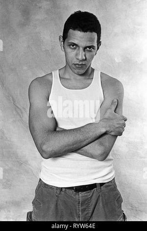 El actor francés Roschdy Zem, 1995. Imagen De Stock