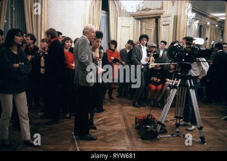 Les Nuits de la pleine lune Año: 1984 - Francia Eric Rohmer, Pascale Ogier Director : Eric Rohmer imágenes Imagen De Stock