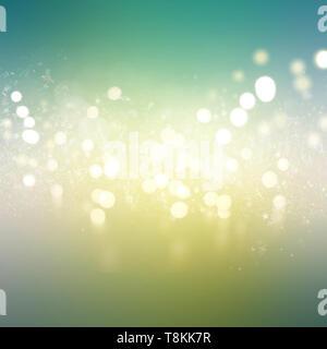 Resumen Antecedentes de bokeh luces y estrellas Imagen De Stock
