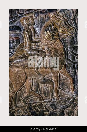 Camboya, Angkor, Angkor Wat, 1966 o anterior, ciudades perdidas de Asia, la arquitectura, el sudeste de Asia. Imagen De Stock