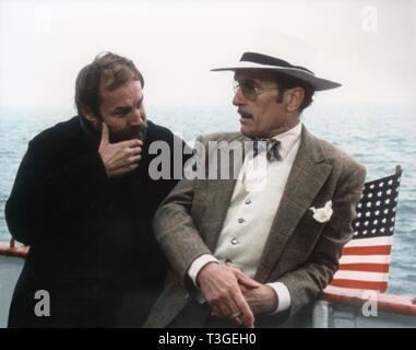 La rosca Año: 1985 EE.UU. Director: Jerzy Skolimowski Klaus Maria Brandauer, Robert Duvall Imagen De Stock