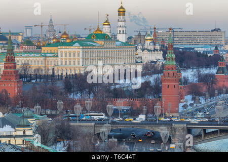 Paisaje urbano, el Kremlin, Moscú, Rusia Imagen De Stock