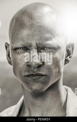 Retrato emocional del chico adolescente Imagen De Stock