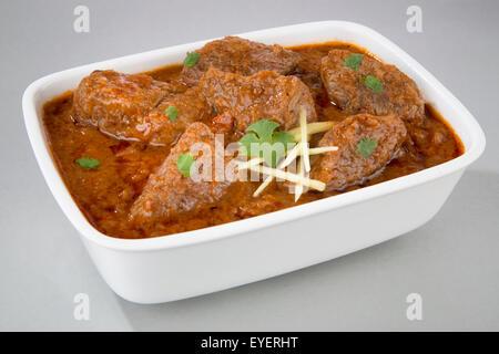 LAMB ROGAN JOSH curry indio Imagen De Stock