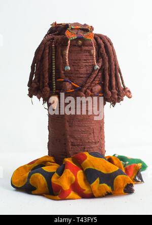 Tribu doll desde zona sur, Cunene, Angola Imagen De Stock