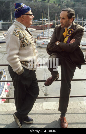 Jeremy Thorpe MP con 1979 constituyente Devon UK HOMER SYKES Imagen De Stock
