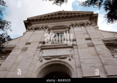 Iglesia de Santa María La Nova, la Basílica di Santa Francisca Romana, construido sobre la colina Palantine junto al Foro Romano en el siglo 10 Imagen De Stock