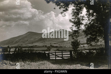 Valle Edale, Derbyshire Peak District, Fecha: circa 1930 Imagen De Stock