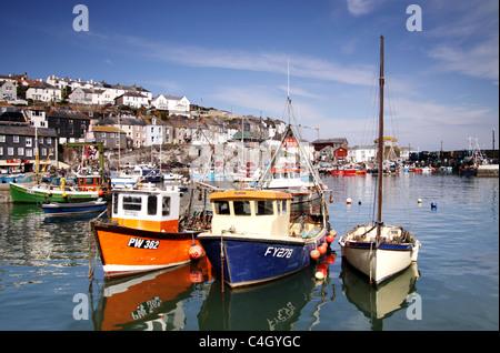 Mevagissey,Cornwall,West Country,Inglaterra,Reino Unido Imagen De Stock