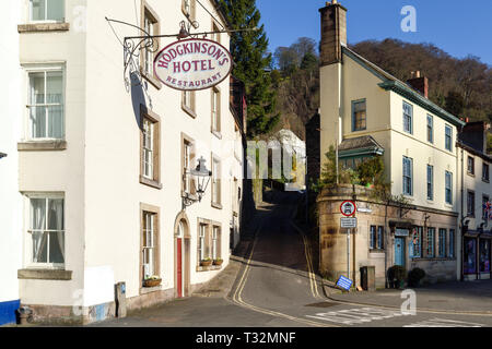 Matlock Bath Peak District Ciudad,Reino Unido. Imagen De Stock