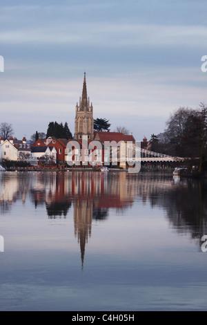 En Marlow, Buckinghamshire, Inglaterra, Reino Unido. Imagen De Stock