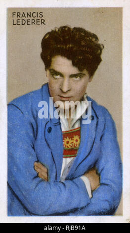Francis Lederer, actor de cine checo. Imagen De Stock