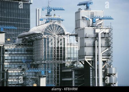 Reino Unido Inglaterra el edificio Lloyds de Londres Imagen De Stock