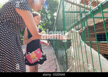 Kok Tobe zoo, Almaty, Kazajstán Imagen De Stock