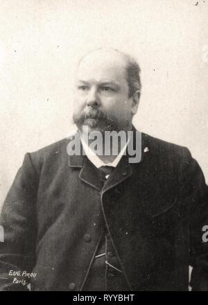 Retrato fotográfico de Meilhac Colección de Félix Potin, de principios del siglo XX. Imagen De Stock
