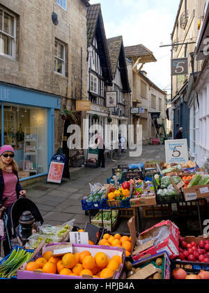 The Shambles, Bradford On Avon Imagen De Stock