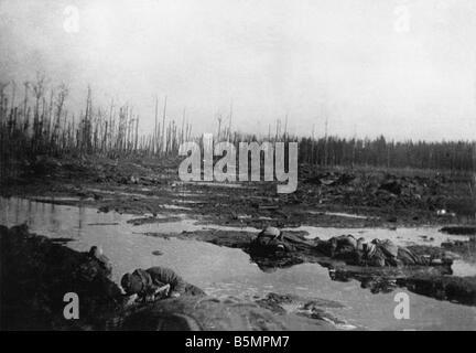 9 1916 3 18 A1 5 E Batalla de Postawy 1916 Campo de Batalla de la Primera Guerra Mundial Frente Oriental la derrota Imagen De Stock
