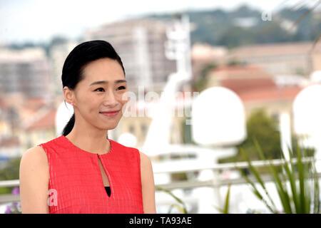 Mayo 21, 2019 - Cannes, Francia - CANNES, Francia - 21 de mayo: Ke-Xi Wu atiende el photocall para ''Nina Wu'' durante el 72º Festival Anual de Cine de Cannes el 21 de mayo de 2019 en Cannes, Francia. (Crédito de la Imagen: © Frederick InjimbertZUMA Wire) Imagen De Stock