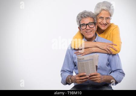 Retrato de alto par Imagen De Stock