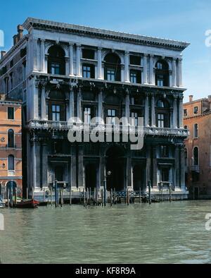 Veneto Venecia palazzo grimani arquitecto Michel sanmichele 1556-59 Imagen De Stock