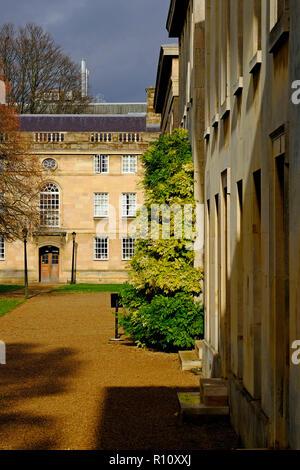 Downing College, Universidad de Cambridge, Inglaterra Imagen De Stock