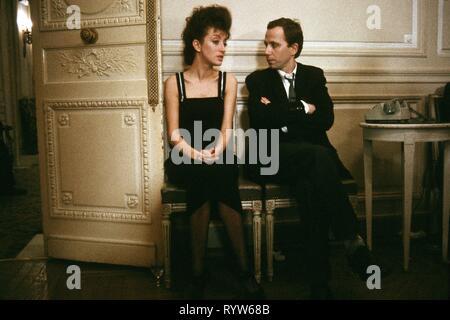 Les Nuits de la pleine lune Año: 1984 - Francia Pascale Ogier, Fabrice Luchini Director : Eric Rohmer Imagen De Stock